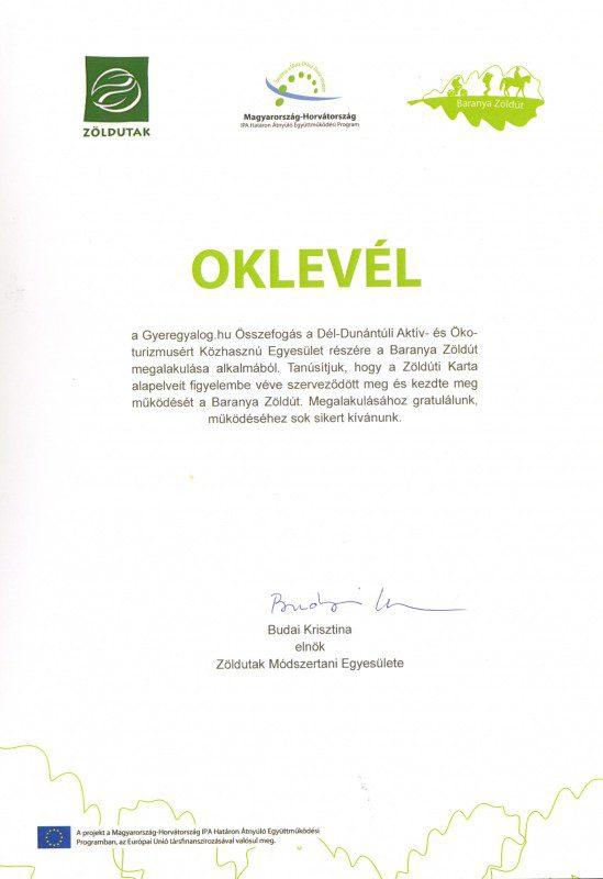 ZOLDUT OKLEVEL